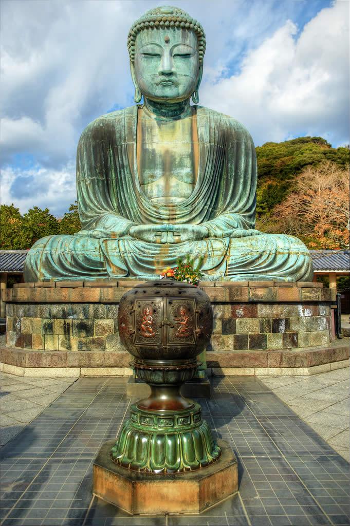 The Great Buddha of Kamakura in Tokyo