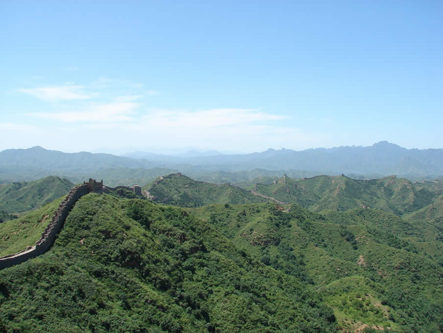 The Chinese Wall in China