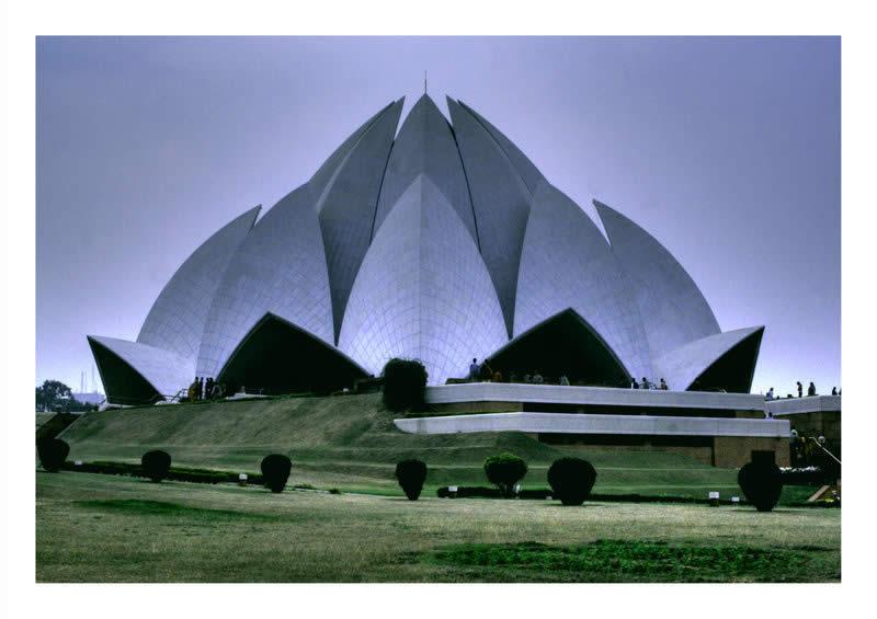 Lotus Temple in India