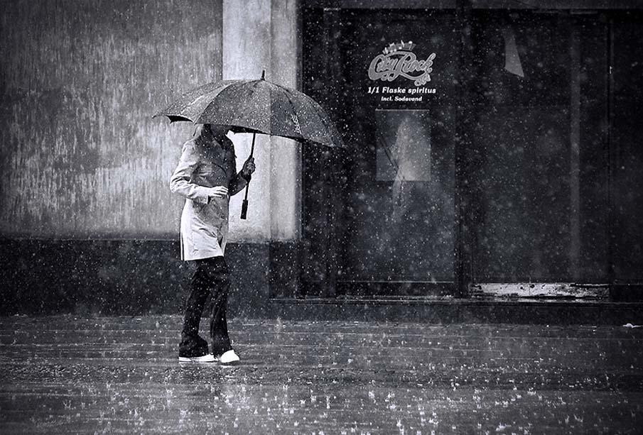 Дождливый день в Копенгагене