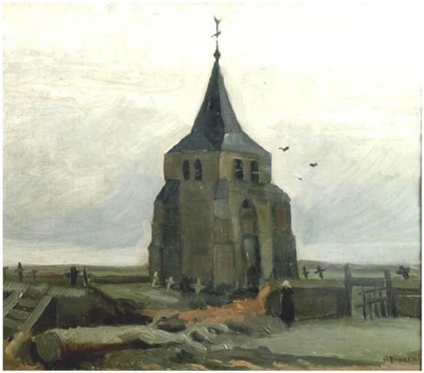 The Old Church Tower at Nuenen