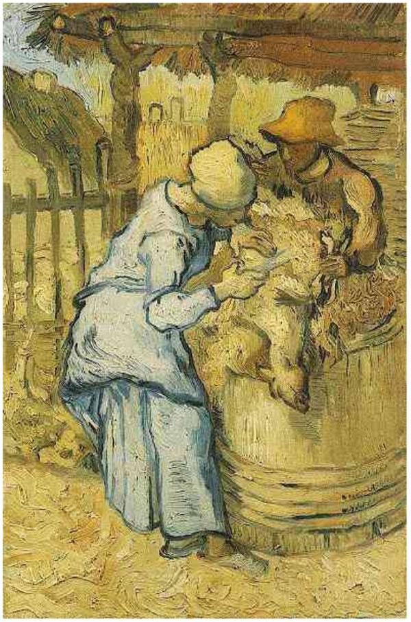 The Sheep-Shearers