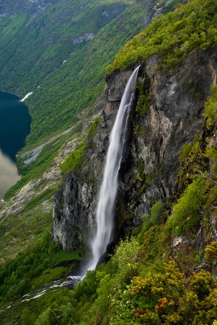Geirangerfjord Waterfall