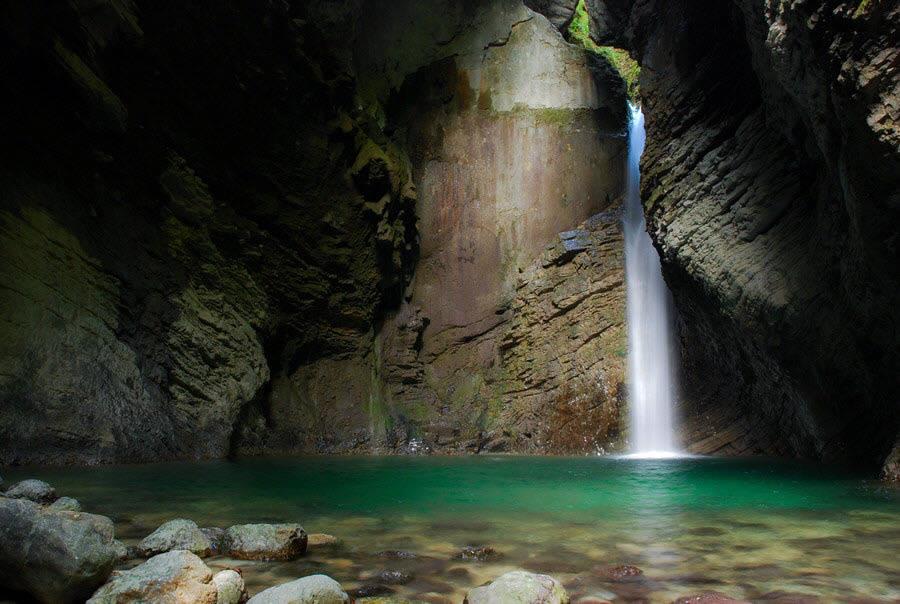 Waterfall Kozjak