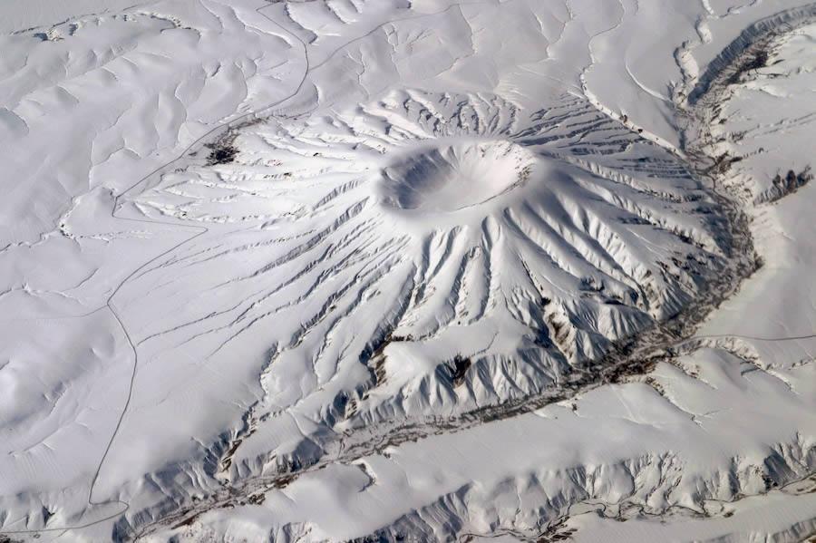 Winter Volcano