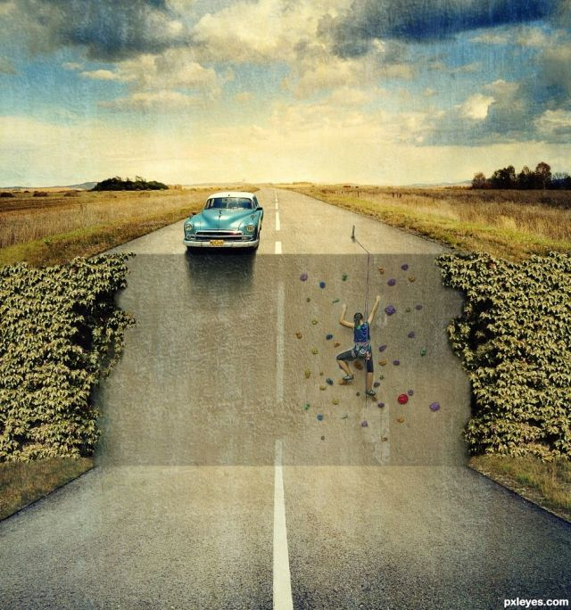 Vertical Road
