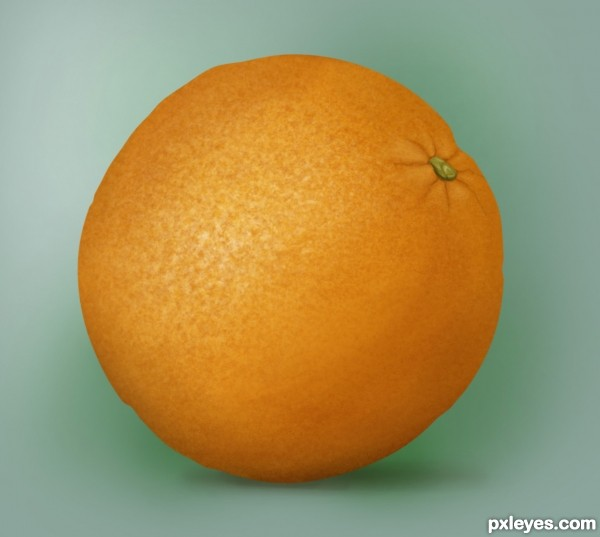 Create A Photo Realistic Orange From Scratch Photoshop