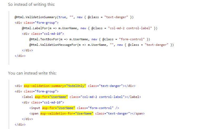 Coding Standerd in ASP.NET 5