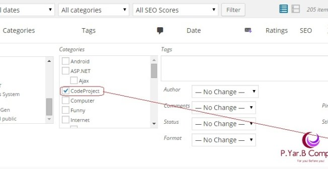Bulk Editing of WordPress posts