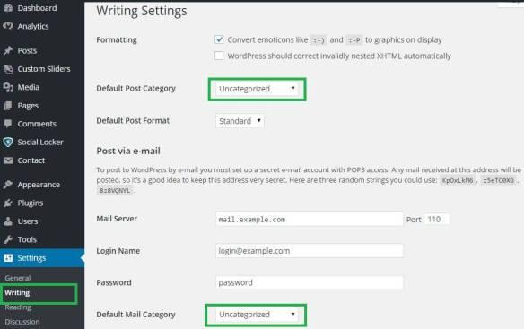 Delete Uncategorized Category in WordPress