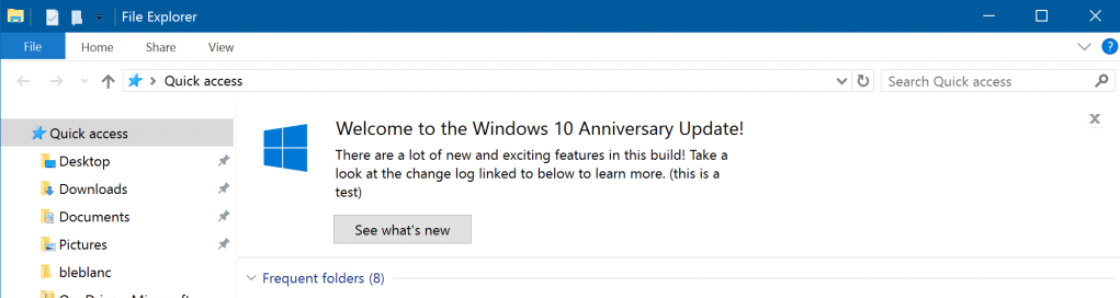 Windows 10 Insider Preview Build 14901