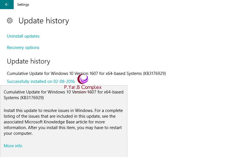 Get Windows 10 Anniversary Update