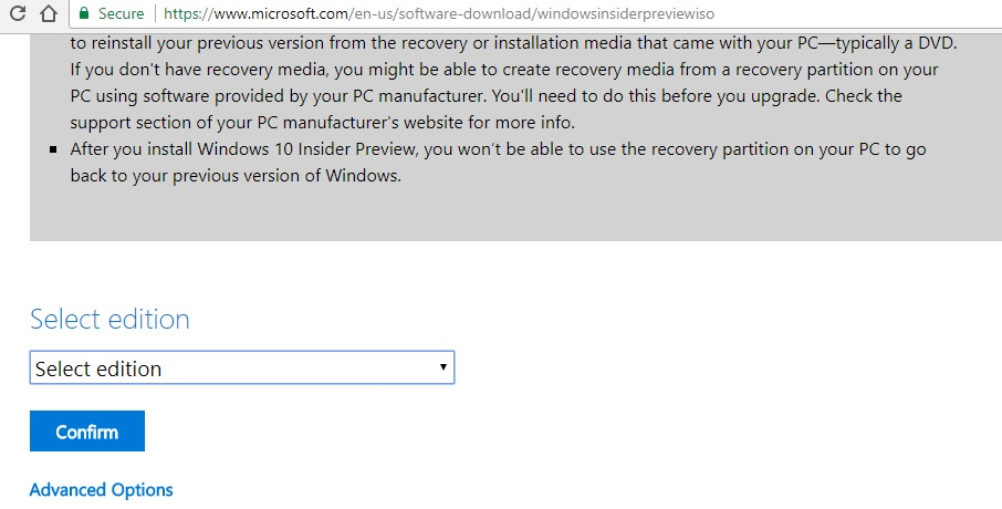 Windows 10 Build 16232 ISO Available for Download – PRB