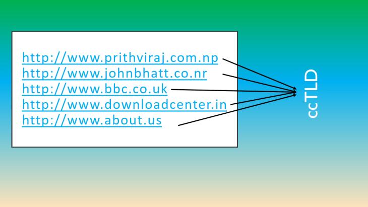 ccTLD (Domain Registration)