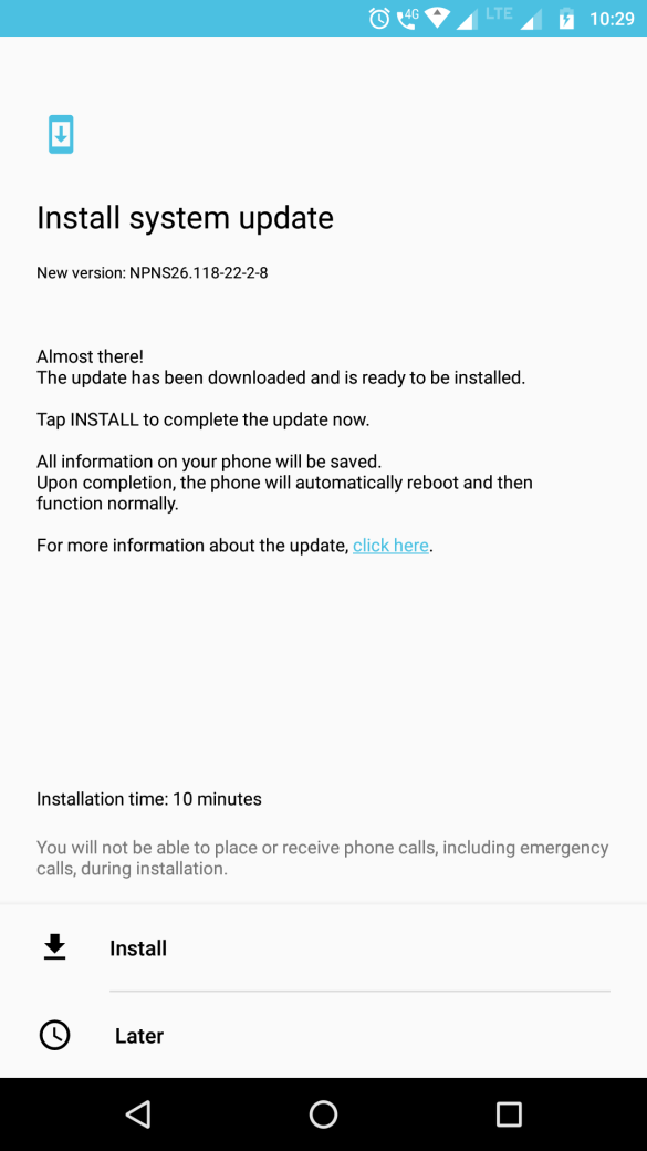 Software Update for Moto Z Play – NPNS26.118-22-2-8