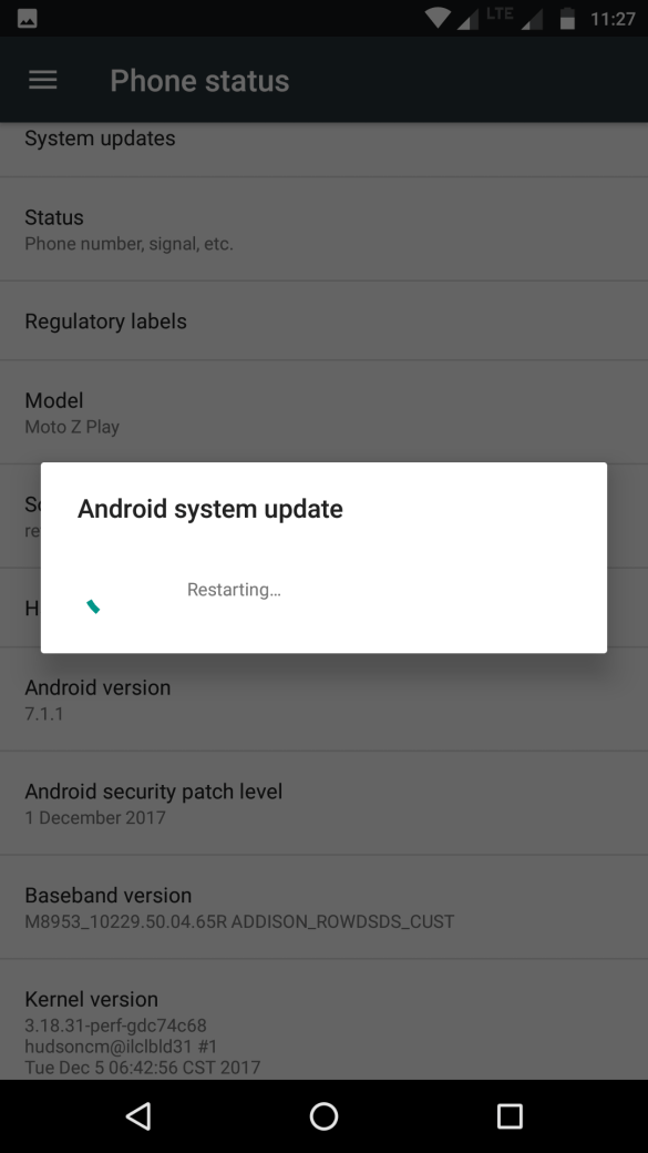 Android Update for Moto Z Play – NPNS26.118-22-2-17