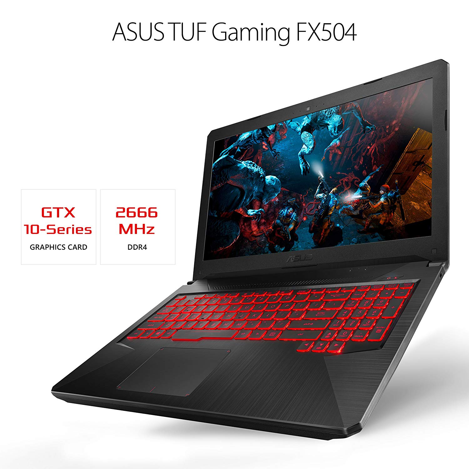 Asus TUF Gaming FX504G Best Gaming Laptops in India