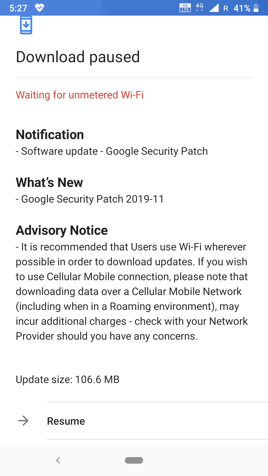 Nokia 6.1 Update V3.54I_SP03 Available with New Information