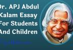 Dr. APJ Abdul Kalam Essay