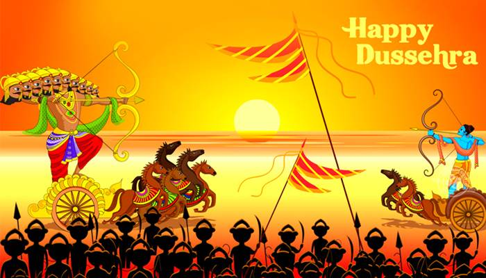 10 Lines On Dussehra In English