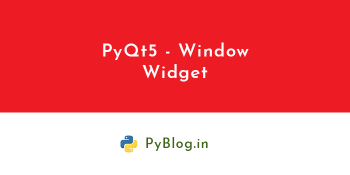 pyqt5-window-widget-banner