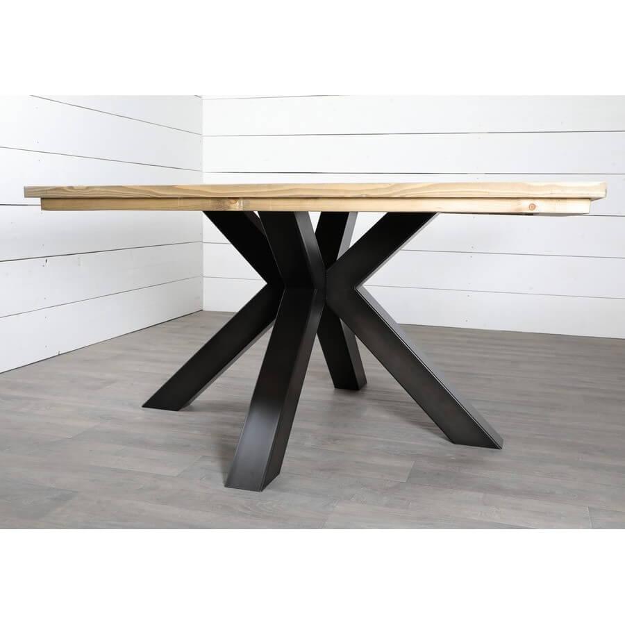 pied de table central pour grande table ronde ref mikarre xxl