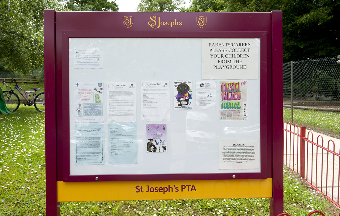 A consistent signage program for St Joseph's Federation by Pylon Design