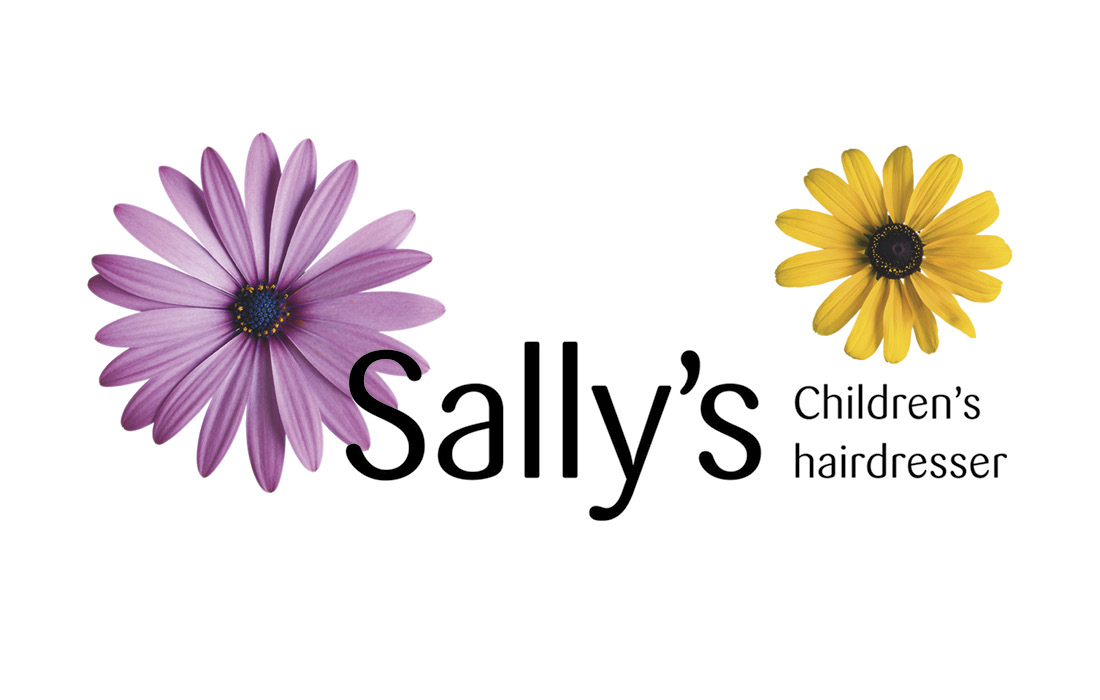 A unique and friendly logo for Sally's Children's Hairdresser by Pylon Design