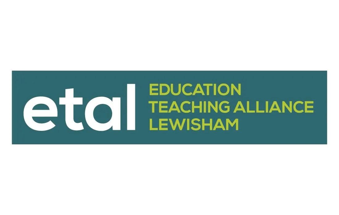 Bold, colourful ETAL logo by Pylon Design