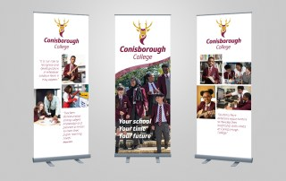 Conisborough College Pull-up Banners