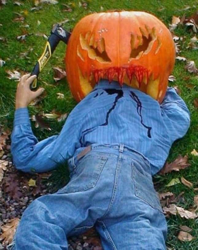 Pumpkin man eater