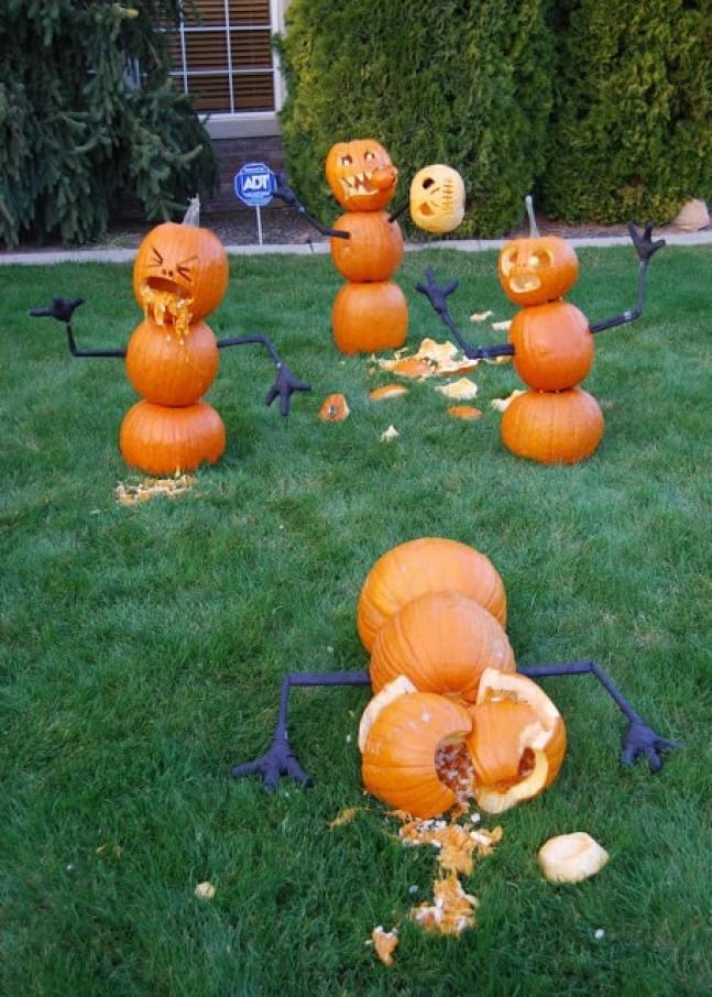 Pumpkin splat