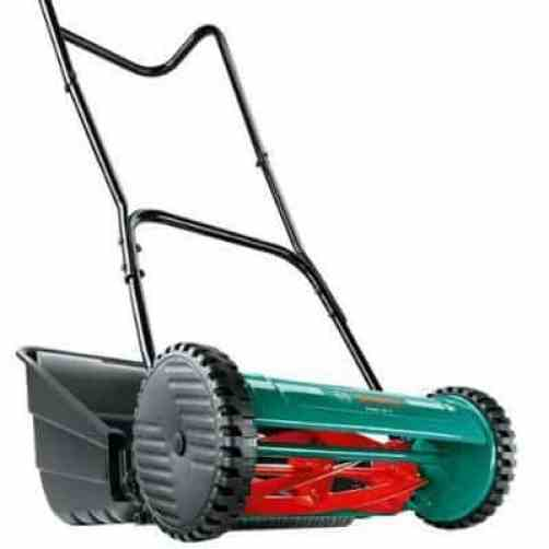 Bosch AHM 38 G Manual push mower review