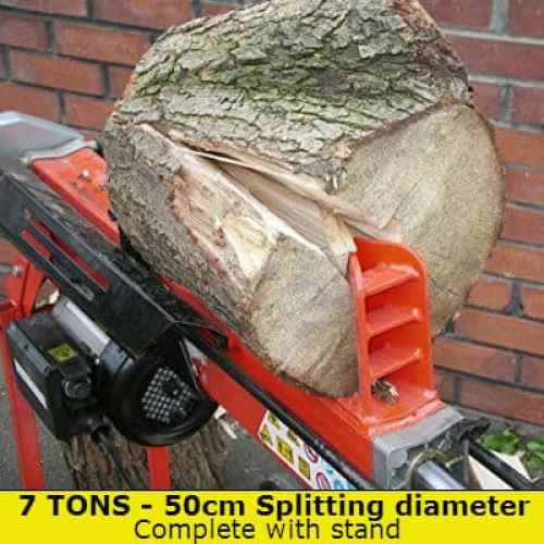 Log Master 7 ton log splitter with stand