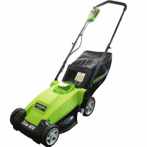 Greenworks cordless mower review, best budget cordless mower