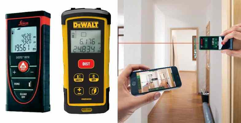Laser tape measure review guide, we compare 8 of the very best models