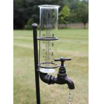 rain gauge with tap gift