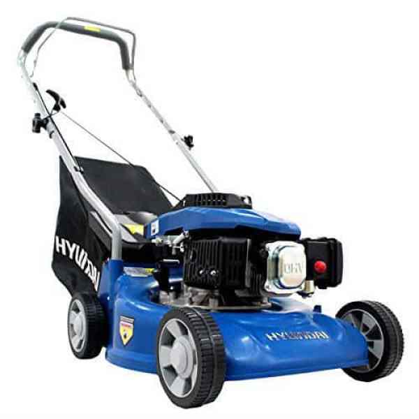 Hyundai 16inch petrol lawnmower review - Best for small gardens
