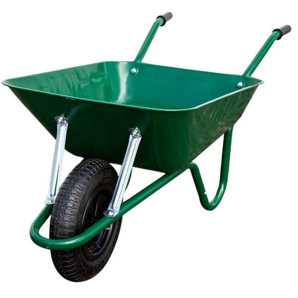 Barrow in a box by the Wallsall wheelbarrow company - best wheelbarrow for home gardens