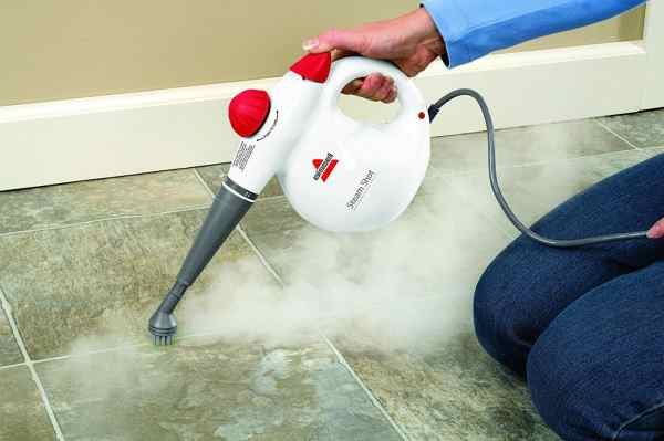 HANDHELD STEAM CLEANER - Bissell 2635s Steam Shot Handheld Steamer Cleaner Reviews