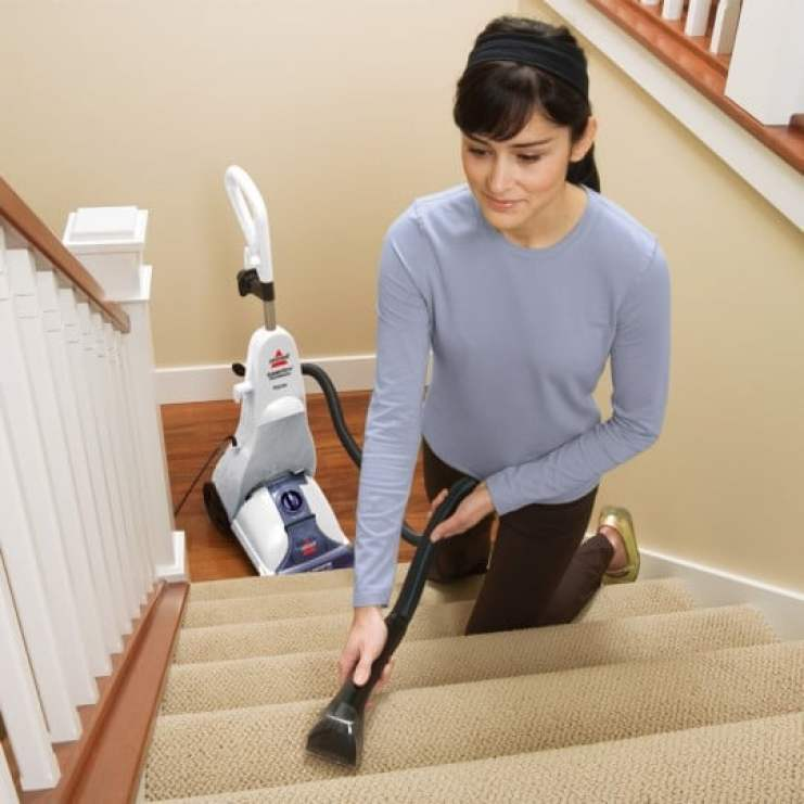 BISSELL Cleanview Power Brush Carpet Cleaner hose tool