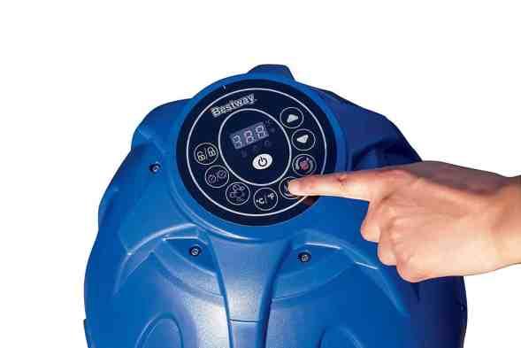 Lay-Z-Spa Monaco Hot Tub control panel