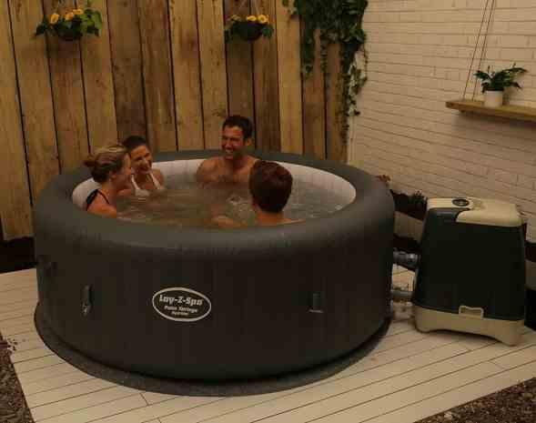 Lazy-Z-Spa Palm Springs HydroJet review