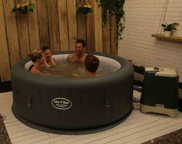 Lazy-Z-Spa Palm Springs HydroJet review