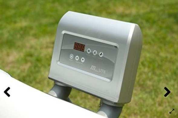 MSPA Luxury Alpine Jacuuzi Spa control panel