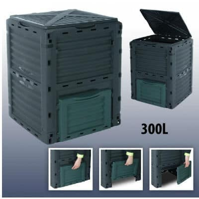 Using the 300 Litre Garden Composter Bin Waste Box Recycling Eco Compost