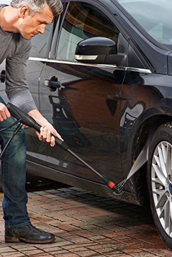 Bosch AQT 37-13 Plus Pressure Washer under car cleaner