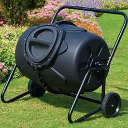 Best Compost Bin - Selections 190 Litre Heavy Duty Garden Tumbling Composter Review