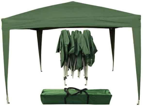 The Airwave pop up gazebo is great canopy for day out and party activities especially due to its open design. This Pop Up gazebo erects in 60 seconds and comes along with instructions for assistance. The work might need up to 4 people but it's incredibly fast.