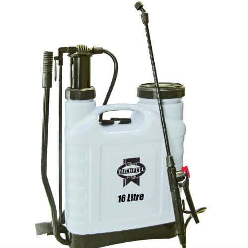 Faithfull 16 litre Pressure Sprayer Knapsack review